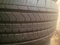 FOUR 235/60/17 A/S MICHELINS plus new spare. $100