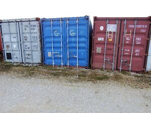 Used 20' Shipping/Storage Containers for Sale Sarnia Sarnia Area image 1