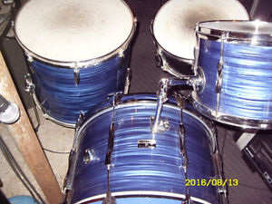 Late 60's premier 4 piece drum shell kit for sale or trade Peterborough Peterborough Area image 5