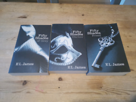 Fifty shades of grey book collection