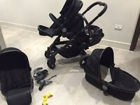 Icandy PEACH BLOSSOM 3 complete travel system