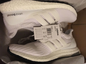 Adidas Ultraboost 4.0 UB Size 12 DS Triple White