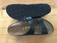 New Birkenstocks size 43 (men's 10)