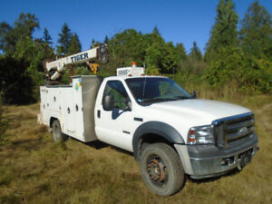 2007 Ford XL F550 4x4 Diesel service mechanics truck