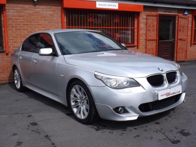 2008 08 BMW 5 SERIES 520D M SPORT 4D 2.0 AUTO 175 BHP DIESEL
