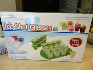 Two New Sets of Ice Shots Shooter Glass makers - Made with water Kitchener / Waterloo Kitchener Area image 2