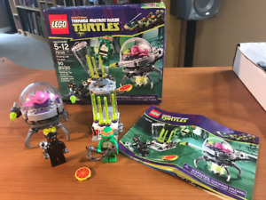 LEGO Teenage Mutant Ninja Turtles Kraang Lab Escape 79100