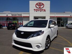 2014 Toyota Sienna SE V6 8-PASS LOW MILEAGE DEALER INSPECTED