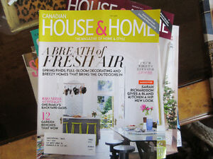 Decorating Magazines Style at Home & Canadian House and Home