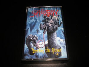 Suffocation - Breeding the spawn 1993 cassette audio Heavy Metal