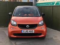 2015 Smart Fortwo 1.0 Passion (s/s) 2dr