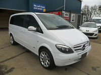 MERCEDES BENZ VIANO E350 3.2 219BHP COMPACT AMBIENT AUTOMATIC 7 SEATER 48K