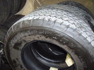 265/70/17 Bridgestone Dueler