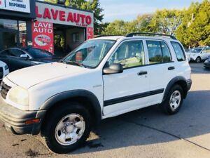 Suzuki Vitara JX 4WD-Automatic-Blanc 2004