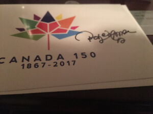 Autographed Canada 150 Cards
