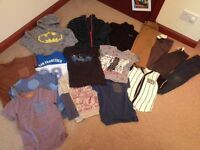 Boys clothing bundles and football trainers