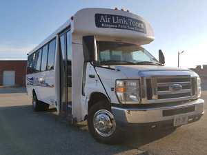 Ford E 450 diesel tour bus on sale