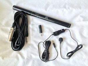 Shotgun mic / lapel mic