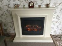 Electric fire 2KW output with surround
