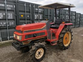 Yanmar F195 Compact Tractor - 4WD - Rotavator - Mower