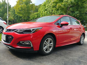 2017 Chevrolet Cruze Hatchback - Lease Takeover $131 biweekly