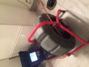 Plumber. Camera inspection. Clogged Drain/ Toilet/ kitchen/sink