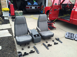 Bucket Seats and conversion kit for 1967 to 1972 GM truck