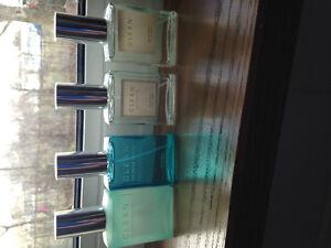 4 30mL bottles of Clean parfum for women