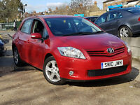 2010 (10)Toyota Auris 1.6 V-Matic MMT TR LOW LOW MILEAGE!!! ONLY 11K MILES DONE