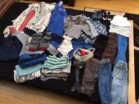Baby Boy Clothes Bundle 12-18 months 👶🏻 👕 40+ items