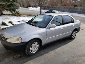 2000 Honda Civic 190000 Kilometers $2000 OBO