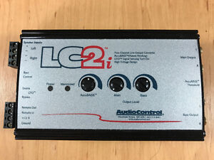 Audiocontrol LC2i - Pro Lineout Converter for any car