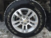 Chevy wheels with tires 265/65R18