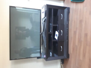 Samsung tv and stand
