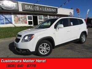2012 Chevrolet Orlando 1LT   INTERFACE-PKG (BT, MP3, S/W-AUDIO),