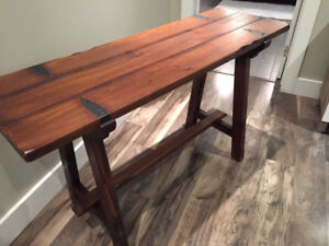 Pier 1 Farmhouse Wood Console Table - Immaculate Condition