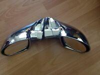 Universal fitment Super Sport Chrome Mirrors
