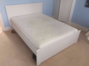 Ikea queen size Brusali bed frame