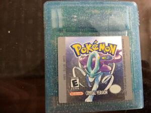 Pokémon Crystal for Gameboy Color (new battery)