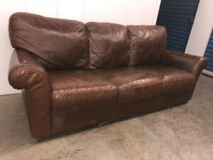 Leather COUCH -  Delivery