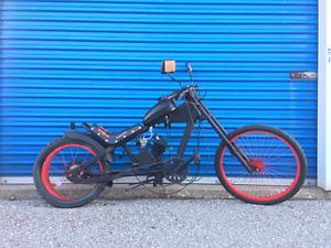 80cc motorized chopper