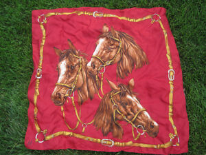 Horse Scarf/ Wall Hanging