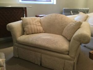 Solid Roxton Couch and Loveseat