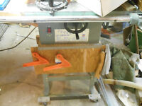 "10 "" King Table Saw Great shape . 120/240 volt motor. new price"