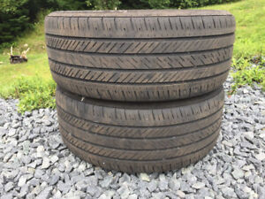 Two 225/45R17 Summer Tires