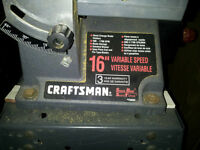 """Craftsman 16"""" Variable Speed Scroll Saw with Stand"""