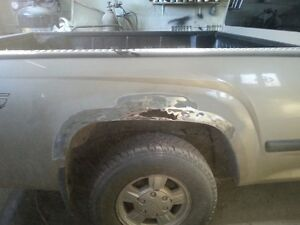 ROCKER PANEL AND ALL RUST REPAIRS FOR MVI