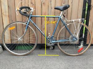 Velo route road bike 12 vitesses speed  27 x 1-1/4