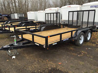 2016 SureTrac 7x14ft Tube Top Utility Trailer $3999