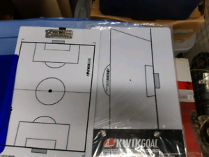 Soccer coaching boards